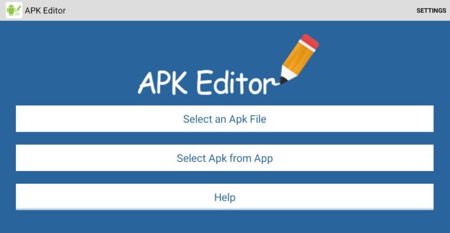 APK Editor For Windows